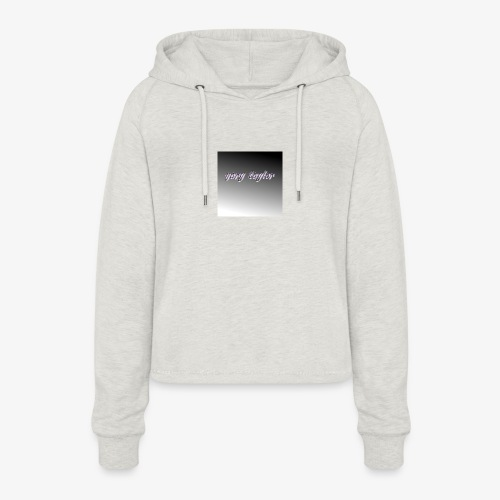 gary taylor OFFICIAL .e.g - Women's Cropped Hoodie
