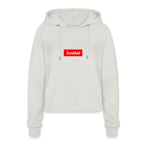 Tumbled Official - Women's Cropped Hoodie