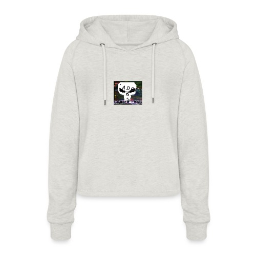 J'adore core - Vrouwen Cropped Hoodie