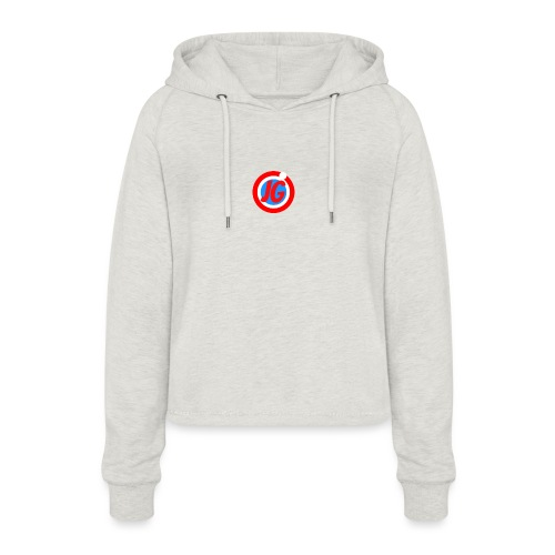 TEAM JG Logo top - Women's Cropped Hoodie