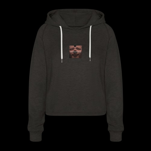 Why be a king when you can be a god - Women's Cropped Hoodie