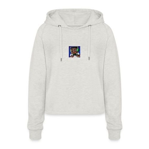 This is the official ItsLarssonOMG merchandise. - Women's Cropped Hoodie