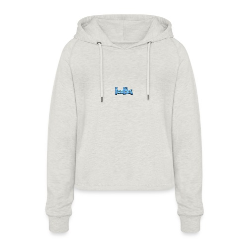 THE ICE SHIRT - Cropped hoodie til damer