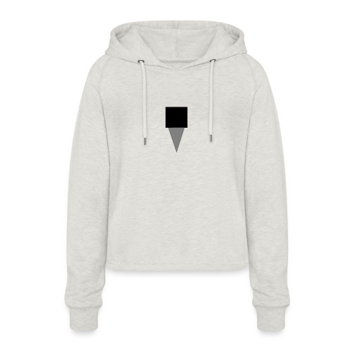 Mystery Mike Hat - Women's Cropped Hoodie