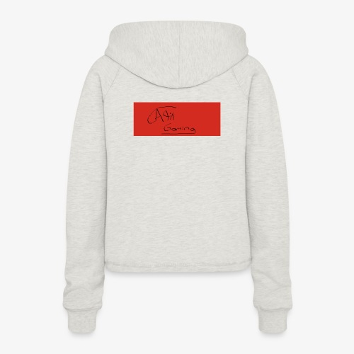AliT Gaming signed - Women's Cropped Hoodie