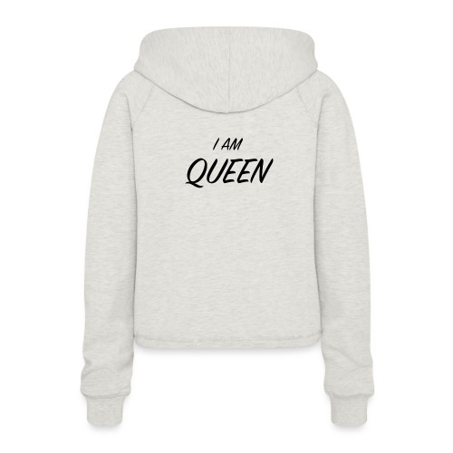 Queen - Sweat à capuche court Femme