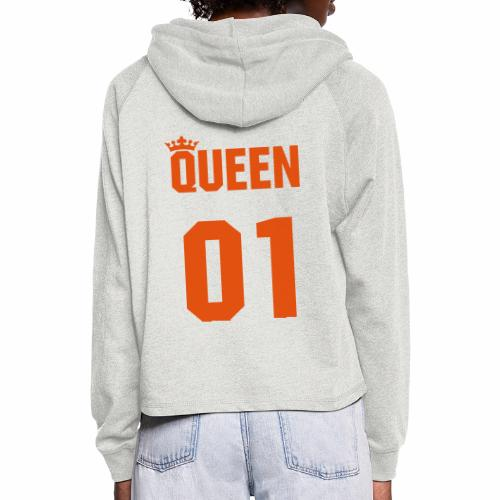 The Queen - Frauen Cropped Hoodie