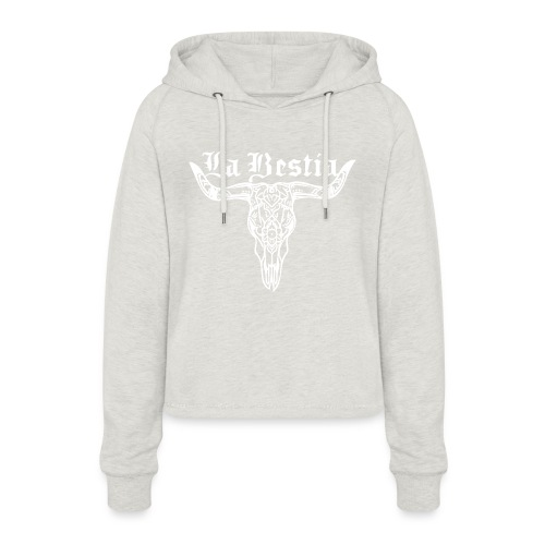 LaBestiaWhite png - Vrouwen Cropped Hoodie