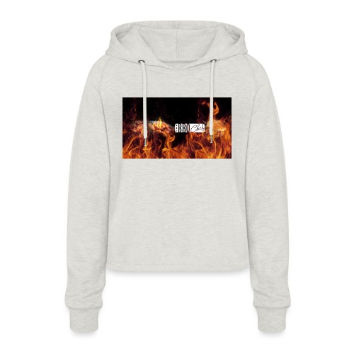 Barbeque Chef Merchandise - Women's Cropped Hoodie