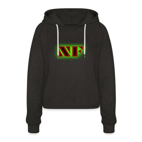 My Logo - Cropped Hoodie for kvinner