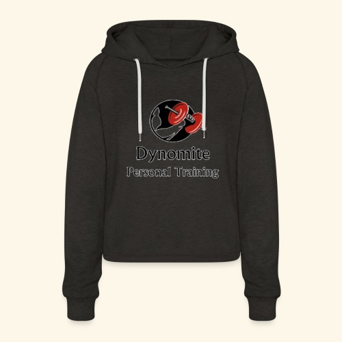 Dynomite Personal Training - Women's Cropped Hoodie