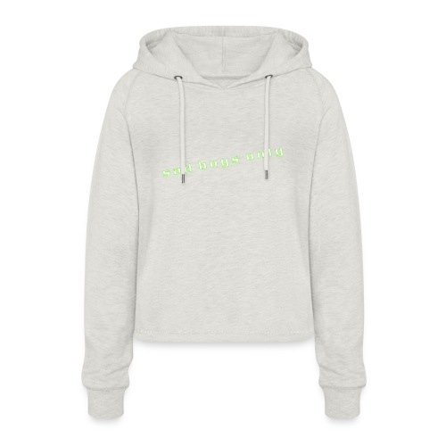 only_sad - Women's Cropped Hoodie
