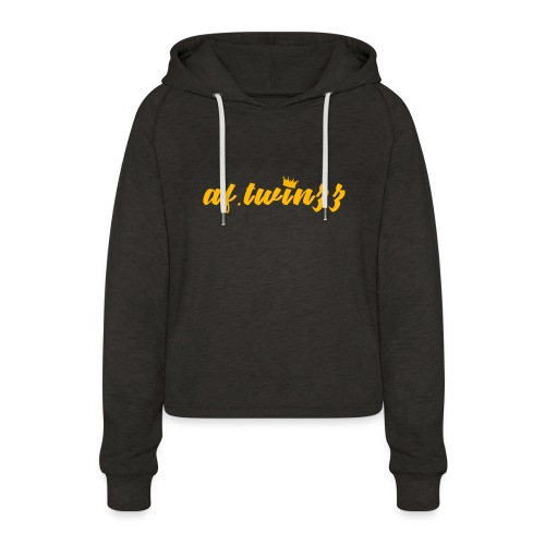 af.twinzz Clothing - Women's Cropped Hoodie
