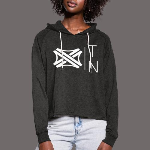 Tregion logo Small - Women's Cropped Hoodie