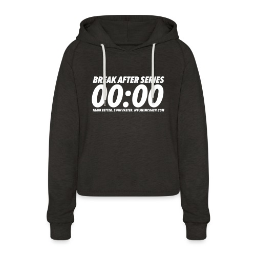 BREAK AFTER SERIES - Frauen Cropped Hoodie