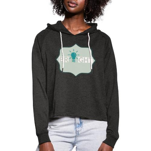 bright - Women's Cropped Hoodie