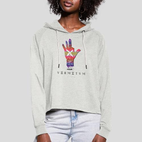 VERMETUM DONT BE SCARED EDITION - Frauen Cropped Hoodie