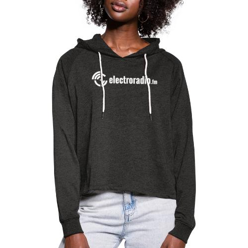 electroradio.fm - Women's Cropped Hoodie