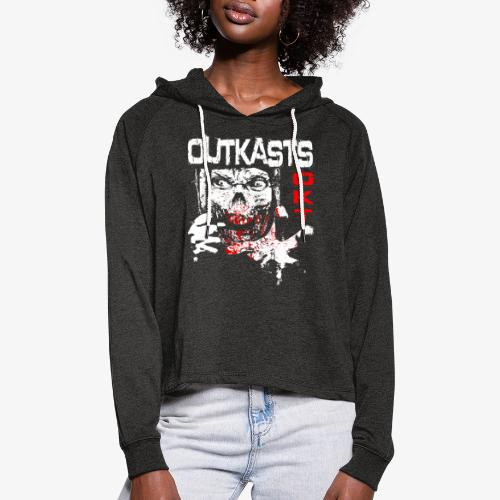 Outkasts Scum OKT Front - Women's Cropped Hoodie
