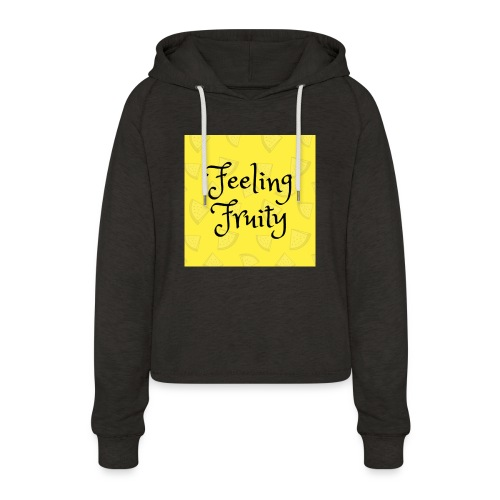 FeelingFruity tops - Women's Cropped Hoodie