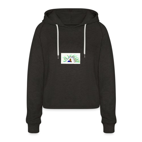 Project Drawing 1 197875703 - Women's Cropped Hoodie