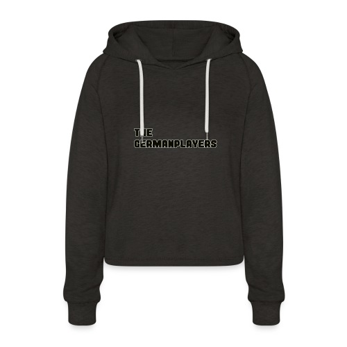 TITLE ONLY 4 FANS - Frauen Cropped Hoodie