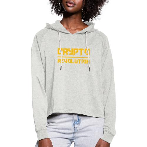 Crypto Revolution III - Women's Cropped Hoodie