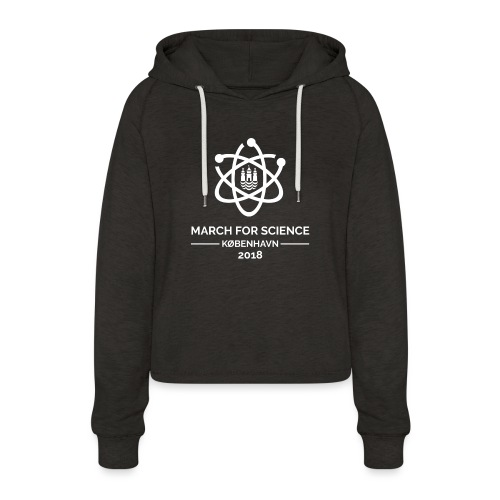 March for Science København 2018 - Women's Cropped Hoodie