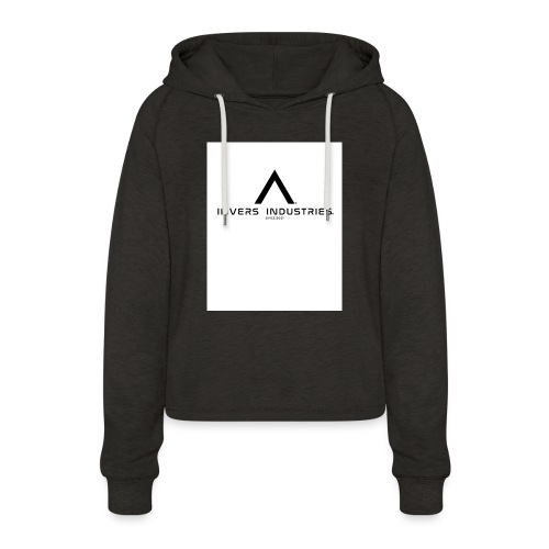 Invers Industries Full White - Women's Cropped Hoodie