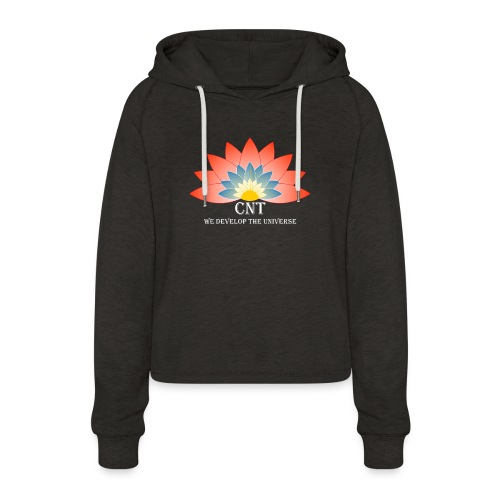 Support Renewable Energy with CNT to live green! - Women's Cropped Hoodie