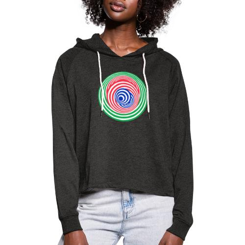 Tricky - Women's Cropped Hoodie
