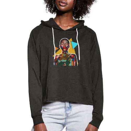 Pieces of me - Women's Cropped Hoodie