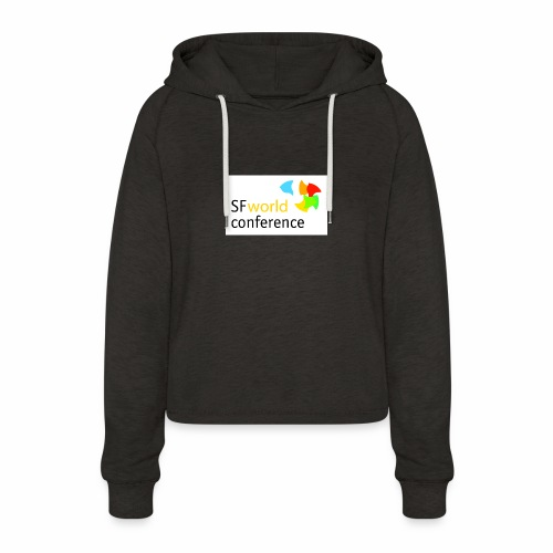 SFworldconference T-Shirts - Frauen Cropped Hoodie