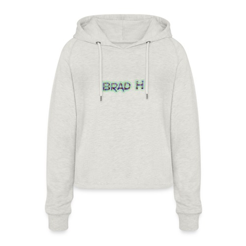 Official Brad H Logo - Women's Cropped Hoodie