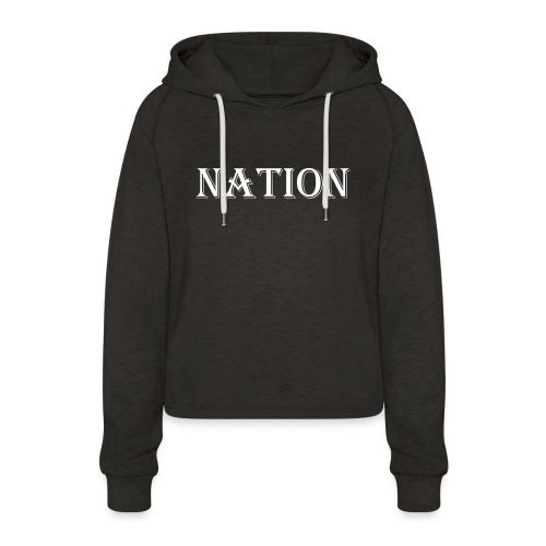 Nation - Vrouwen Cropped Hoodie