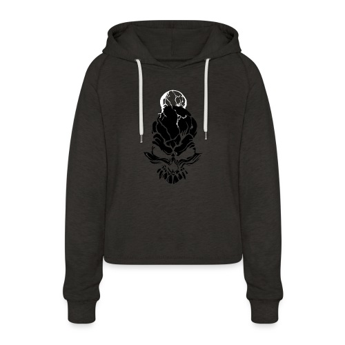 F noize fronte png - Women's Cropped Hoodie