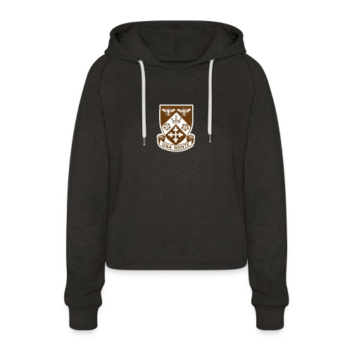 Borough Road College Tee - Women's Cropped Hoodie