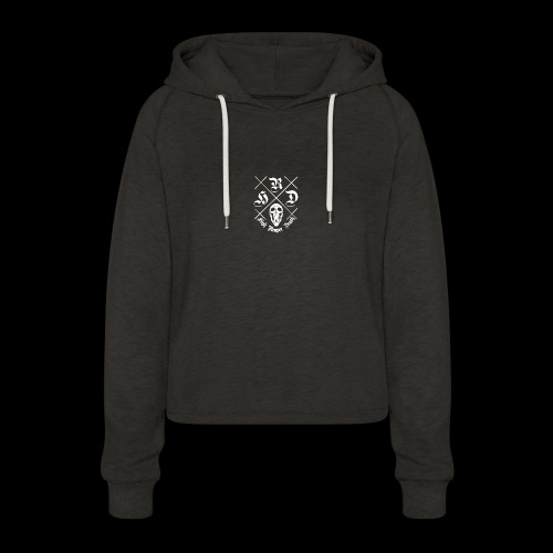 HIGH.REAPER.DEATH - Women's Cropped Hoodie