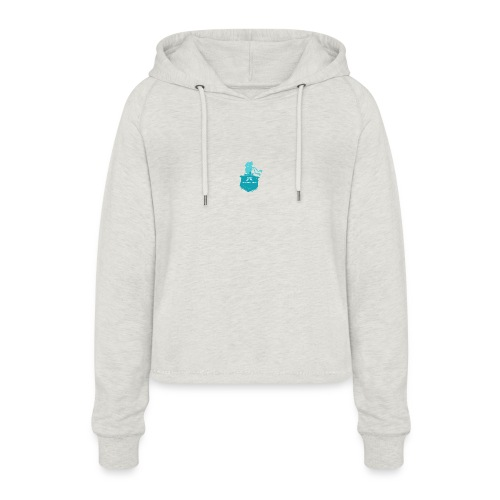 Shadow Moses - Women's Cropped Hoodie
