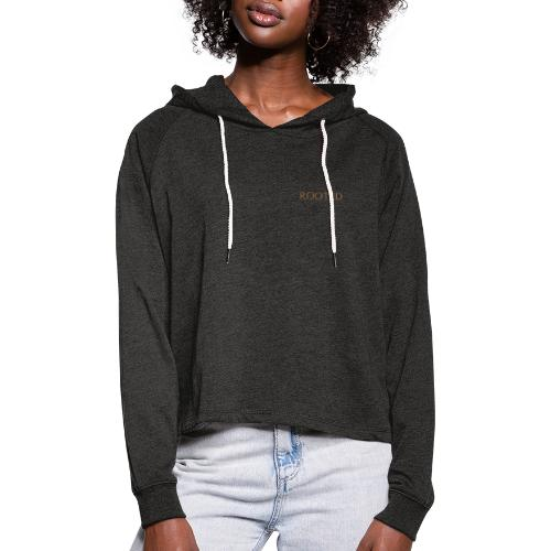 YTH ALV ROOTED - Frauen Cropped Hoodie