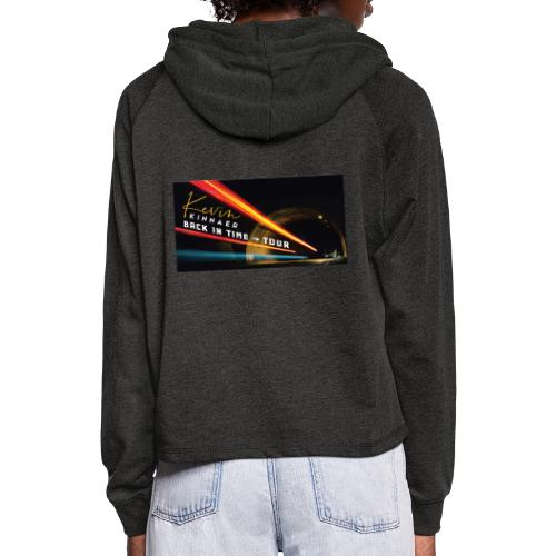 Back In Time Tour test - Vrouwen Cropped Hoodie