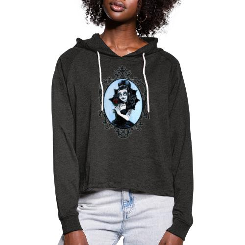 Model of the Year 2020 Lilith LaVey - Women's Cropped Hoodie