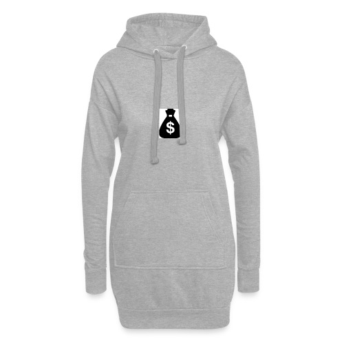 $ im Beutel Motiv - Hoodie-Kleid