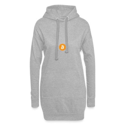 Bitcoin Logo - Hoodie Dress