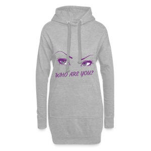 Femme ! Who are you ? - Sweat-shirt à capuche long Femme