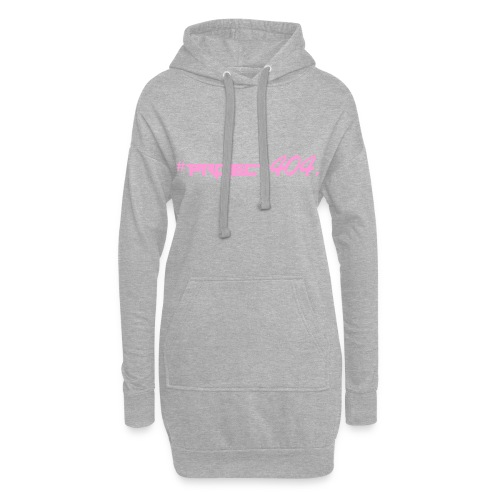 #project404 pink - Hoodie Dress