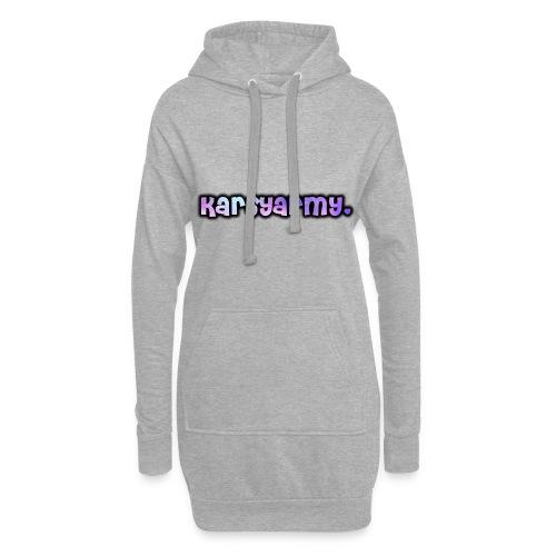 T Shirt Karsyarmy♥ - Hoodie-Kleid