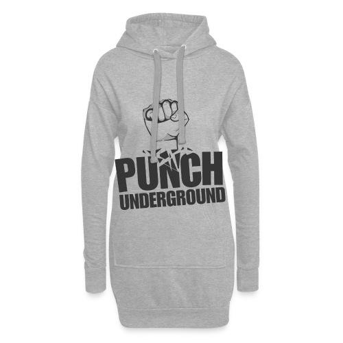 Punch Underground Black - Hoodie-Kleid
