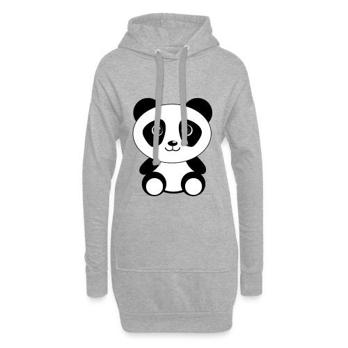 PandaGun-Icon - Hoodie-Kleid