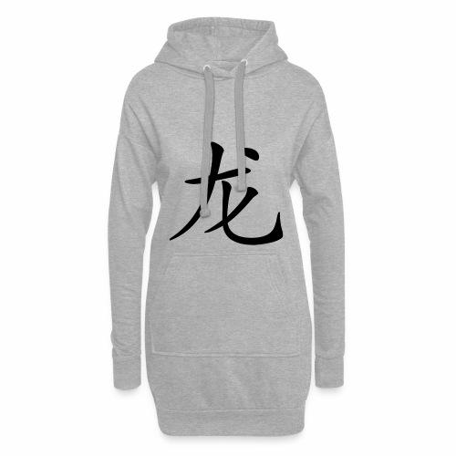 Hoodie Chinesisches Zeichen - Hoodie-Kleid